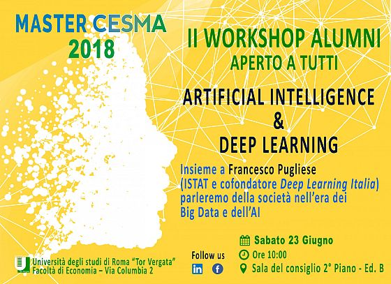 II Workshop CESMA: video talk Francesco Pugliese