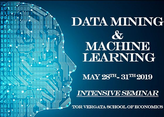 Data Mining & Machine Learning 28-31 maggio